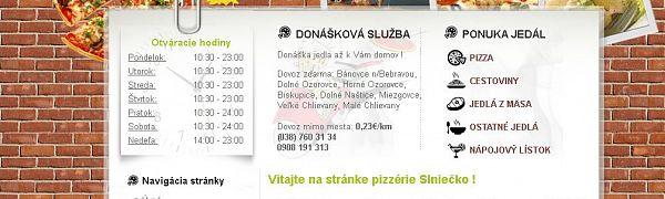 Pizzéria Slniečko
